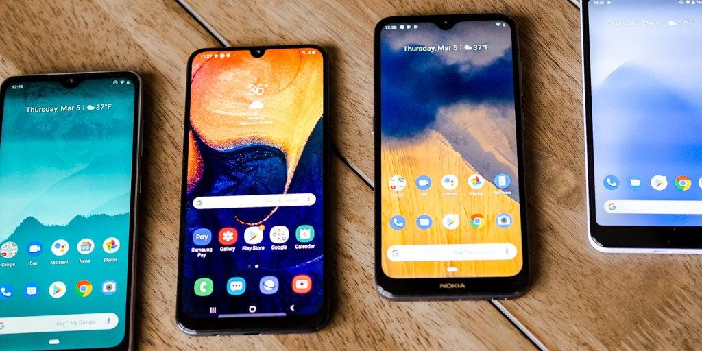 Budget friendly smartphones