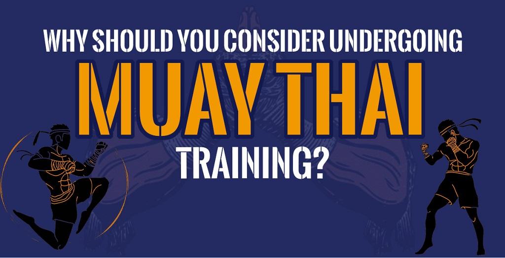 Muay Thai training session