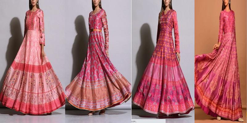 #Pinkdorable: A New Trend by Vasansi Anarkali Suits Online