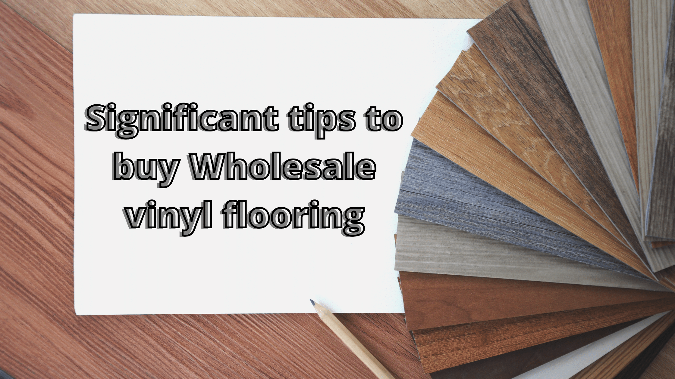 Wholesale sale vinyl plank flooring
