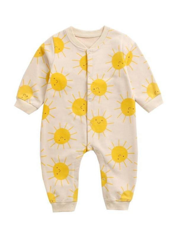 kiskissing wholesale infant toddler sun jumpsuit