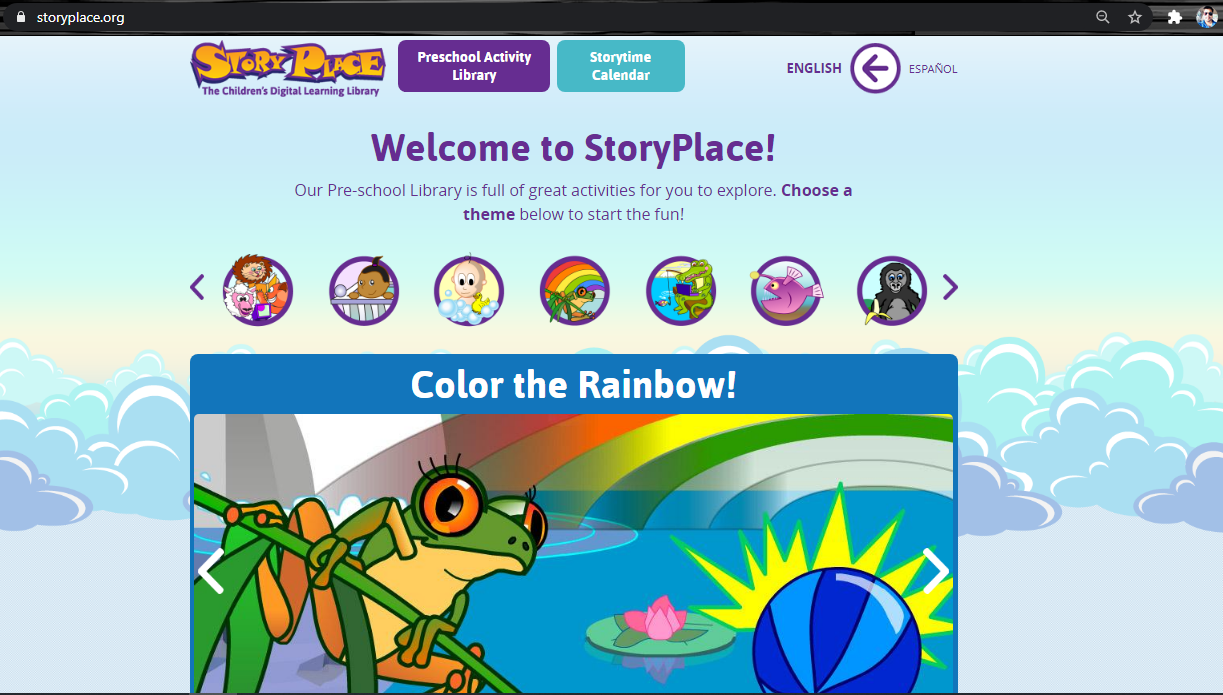 StoryPlace Digital Learning Library