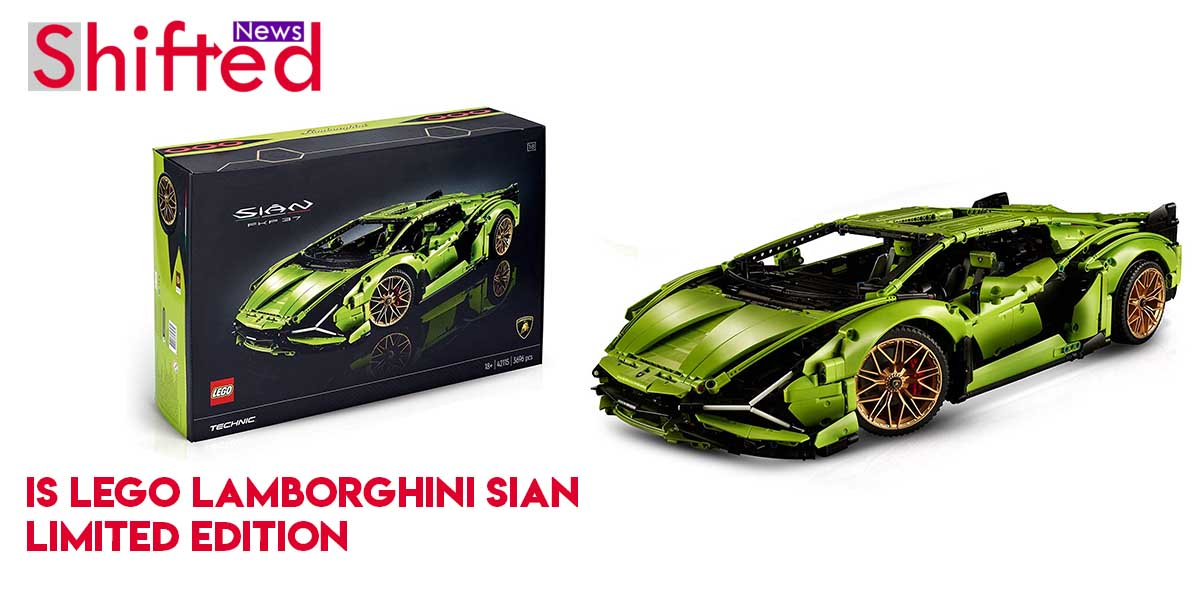 Is Lego Lamborghini Sian limited edition