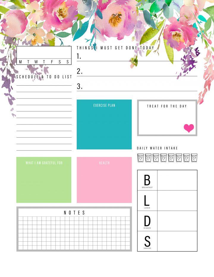 best free planner printables