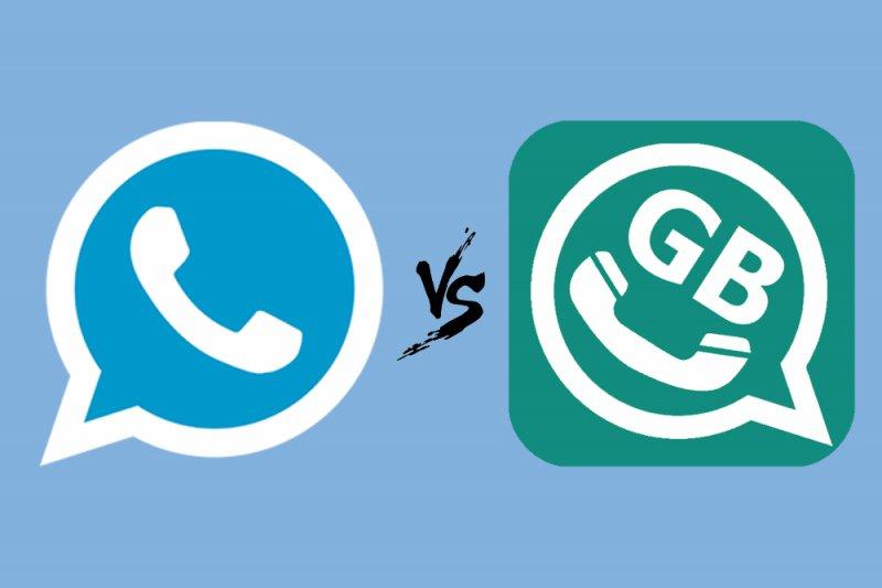 whatsapp gb vd whatsapp plus