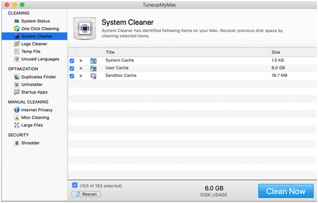 dedicated mac optimization tool