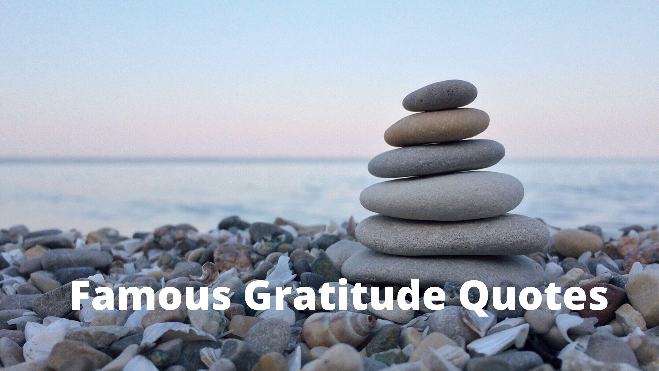 famous gratitude quotes