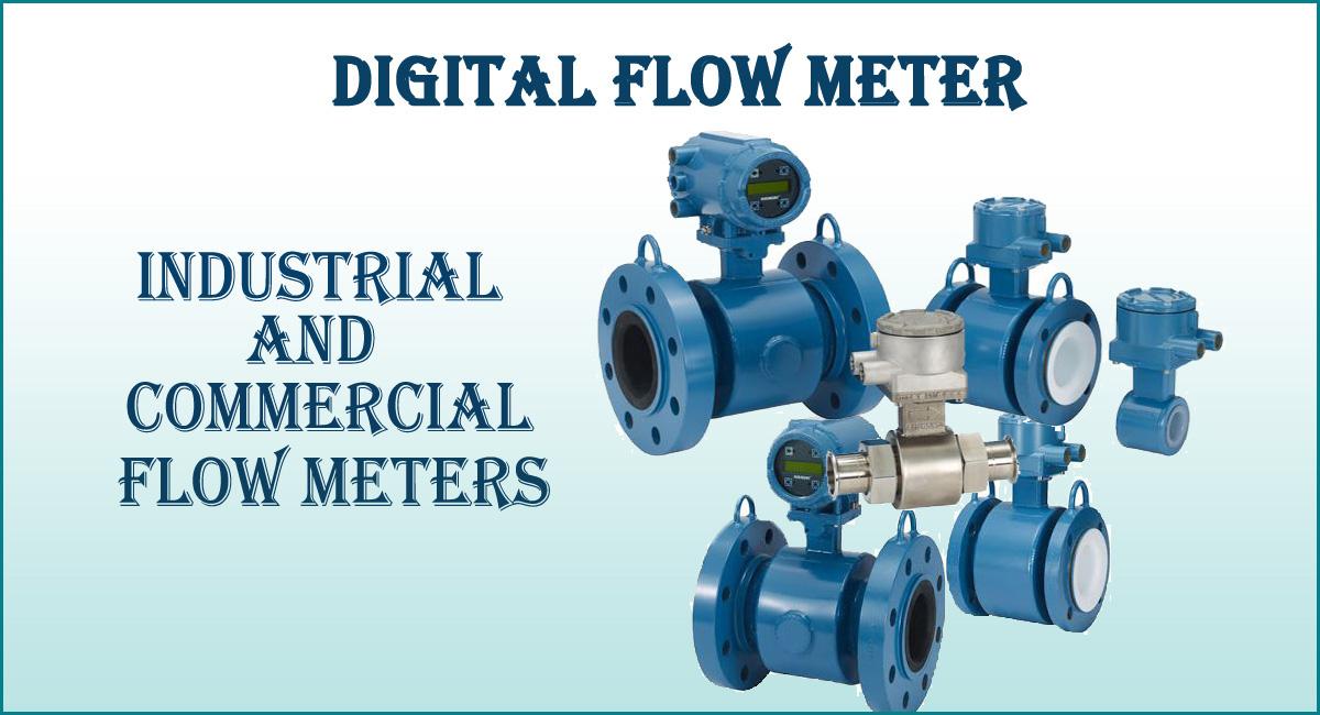 Digital Flow Meter- Industrial and Commercial Flow Meters