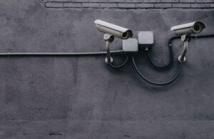 high-tech security cameras